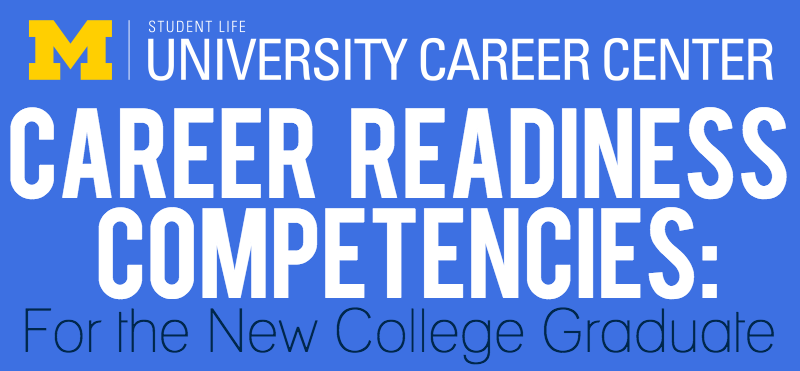 Infographic showing the 7 Competencies new college graduates need to know (image 1 of 9)