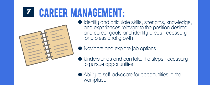 Competency #7 is career management (image 8 of 9)