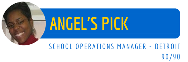 A picture of Angel's staff pick
