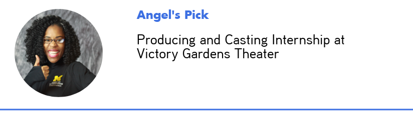 Photo of Angel's staff pick