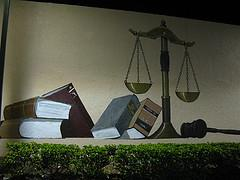 Measure the support and opposition to attending law school