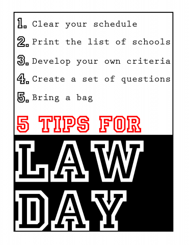 Tips for Law Day