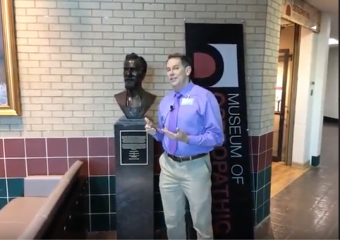 Jason Haxton, Director of Osteopathic Museum